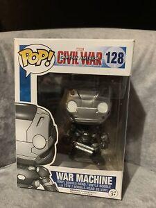 Funko Pop! Marvel Civil War  War Machine Vinyl Figure #128