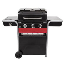 Char-Broil Gas2Coal 3-Burner Gas & Charcoal Hybrid Grill Lid-Mounted