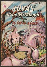 Joyas De La Mitologia Fuego Magico Nº 9 Comic Spanish Mexican Novaro