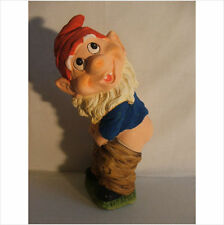 GNOME WITH TROUSERS DOWN .  LATEX MOULD MOLD MOULDS.