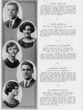 1927 Washington DC Western High School Yearbook~Photos~History~Football~Ads~++++