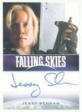"JESSY SCHRAM ""KAREN AUTOGRAPH CARD"" FALLING SKIES SEASON 2"