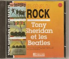 BEATLES  French CD LES GENIES DU ROCK tony sheridan et les beatles