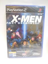 X-Men Next Dimension videojuego para playstation 2 pal nuevo y precintado