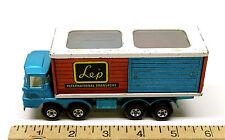Vintage 1971 Lesney Matchbox Super Kings K14 Freight Liner Die Cast Scammell Lep