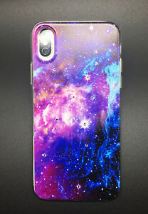 Crystals Case - Universe Series Slim High Quality Cover for Apple iPhone X