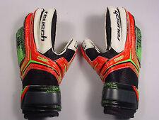 New Reusch Soccer Goalie Gloves RE:CEPTOR RG FingerSupport 3572832S Junior SZ 5