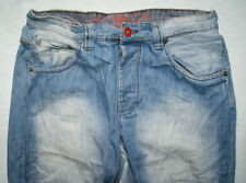 Distressed High Rise 32L Long Jeans for Men