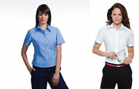 LADIES WOMENS KUSTOM KIT KK720 OFFICE BUSINESS WORK WEAR S / SLEEVE SHIRT BLOUSE