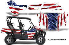 AMR Racing Kawasaki Teryx 4 Graphic Decal Kit UTV Sticker Wrap 16-17 USA FLAG