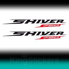 2 ADESIVI Aprilia SHIVER 750 sticker decal moto stickers