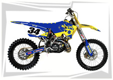 2001-2012 RM 125 250 GRAPHICS RM125 RM250 SUZUKI MOTOCROSS DIRT BIKE MX DECALS D