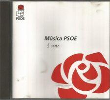 MUSICA PSOE CDSINGLE SPAIN