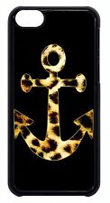 Hot Anchor LEOPARD Animal PRINT Pattern Back Case Cover For Apple iPod 4 5 6