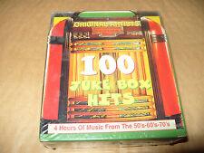 Juke Box Hits 100 Juke Box Hits 4 cd Box Set 1998 New And Sealed