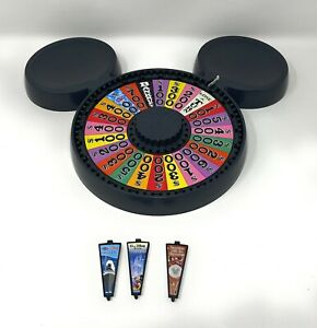 Game Replacement Parts: DISNEY Wheel Of Fortune Mouse Ears Shaped SPINNER