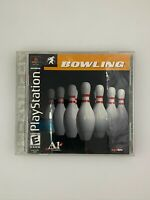 Bowling - Playstation 1 PS1 Game - Complete & Tested