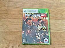 Mass Effect 2 Xbox 360 NTSC-J JP Import