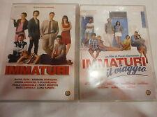 IMMATURI + IL VIAGGIO - SERIE COMPLETA DI 2 FILM IN DVD - COMPRO FUMETTI SHOP