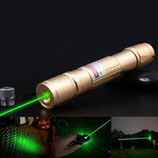 LASERPOINTER GRÜNER STRAHL 30 kM  AKKU +STAR CAPS 1mW GREEN LASER POWER POINTER