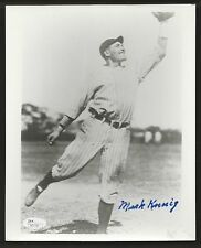 Mark Koenig New York Yankees Signed Auto 8x10 Photo JSA Certified Autograph