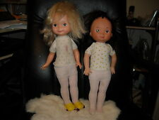 1976 & 1978 fisher price doll my friend Mandy Jenny original hose skates