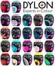 22 COLOURS DYLON FABRIC & CLOTHES FABRIC DYE MACHINE WASH 350g POD INCLUDES SALT