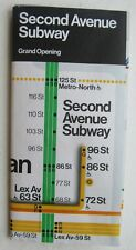 Vignelli  NYC Subway Map 2017 Redesign 2nd Ave Subway Grand Opening