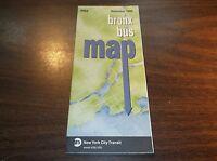 NOVEMBER 2006 NEW YORK CITY TRANSIT BRONX BUS MAP