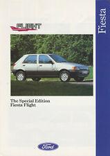 CAR BROCHURE: FORD FIESTA FLIGHT SPECIAL EDITION - 1992