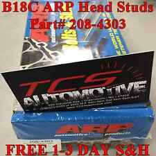 ARP HEAD STUDS Stud Kit 94 95 96 97 98-01 Acura Integra GSR B18C B18C1 DOHC VTEC