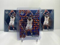 2019-20 Mosaic Basketball, Eric Paschall Rookie Lot(3). Blue Reactive Prizm Base