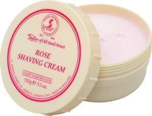 Shaving Cream Rose - Taylor of old Bond Street - Luxury 150g England