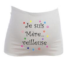 Bandeau de Grossesse Je suis Mère...veilleuse - future maman Maternité - Humour