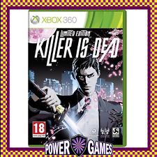 KILLER IS DEAD LIMITED EDITION (Microsoft Xbox 360) Brand New