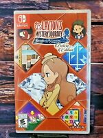 Layton's Mystery Journey - Nintendo Switch - Region Free - Brand New - Sealed