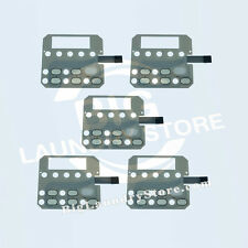 5 Pcs. (5x) NEW Membrane Switch Touchpad for Huebsch or SQ Dryer# 511867, 510034