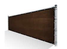 Colourtree 4x25 FT Brown Fence Privacy Screen Cover Fabric