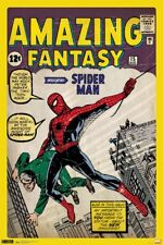 SPIDER-MAN - COMIC BOOK COVER POSTER - 24x36 MARVEL CLASSIC AMAZING 51027