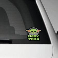 BABY YODA  V2 - STAR WARS VINYL ADHESIVE DECAL STICKER