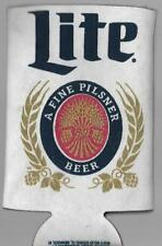 Miller Lite A FINE PILSNER BEER Bottle tall Can Insulated Koozie Sleeve