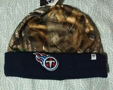 NWT Tennessee Titans NFL 47' Real Tree Foxden Camo Beanie Knit winter Hat
