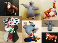 Disney Film Plastic Toy Figures Various Movies