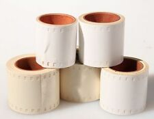 PERF 305 35MM WHITE ROLL, LOT OF 5