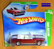 Hot Wheels SUPER T-Hunt Ford Mustang Convertible - New/Sealed/RARE Short Card