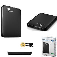 HARD DISK ESTERNO 2,5 500-750-1TB-2TB-3TB WESTERN DIGITAL  USB3.0 AUTOALIMENTATO