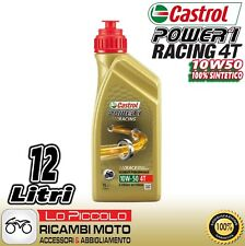 3 litros aceite motor 4T Castrol Power 1 Racing 10w50 Motorrad 4 tiempos