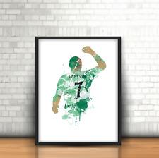 Henrik Larsson - Celtic Inspired Football Art Print Design The Bhoys Number 7