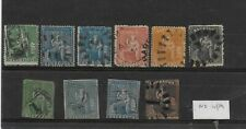 Barbados - ten early QV, used, with no watermark