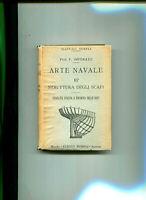 MANUALI HOEPLI-ARTE NAVALE III° STRUTTURA DEGLI SCAFI-1921-F.IMPERATO-168 ILLUST